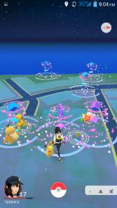 Pokemon at Rhodes
